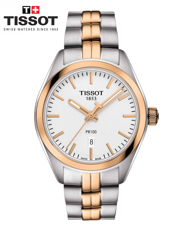 Montre TISSOT PR 100 LADY - OR ROSE