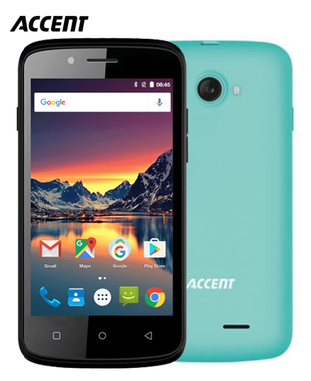 Portable Accent Caméléon C4 - 4 - 4 Go - 512MB - Android 2.3 - Turquoise