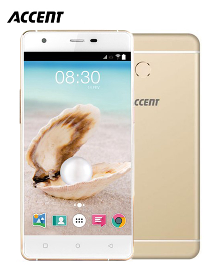 Portable Accent Pearl A2 - 5 - 5MP/8MP - 2 Gb /16 Gb - Quad Core - Gold