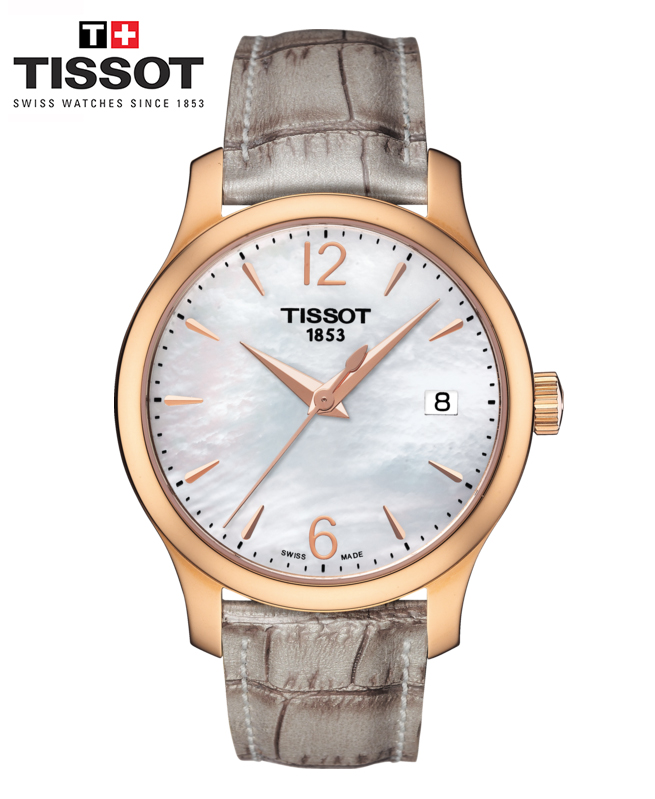 Montre TISSOT TRADITION LADY Crocodile