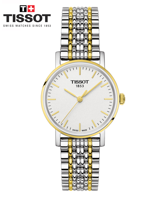 Montre TISSOT EVERYTIME SMALL Or Jaune Gris