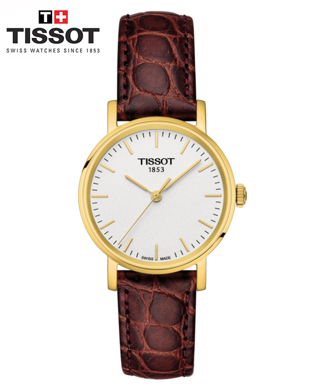 Montre TISSOT EVERYTIME SMALL - Brun