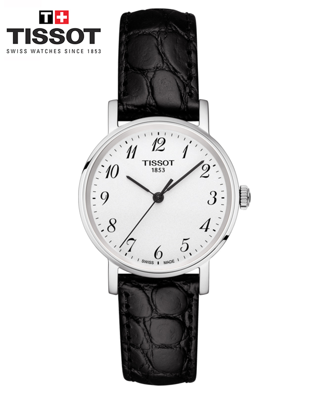 Montre TISSOT EVERYTIME SMALL - Noir