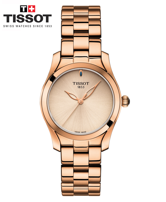 Montre TISSOT T-WAVE - Or rose