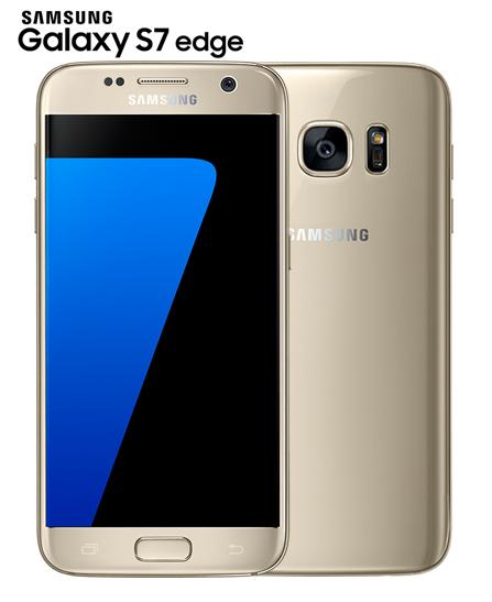 Samsung Galaxy S7 Edge 5.5 - 32 Go - Dual Sim - 4 Go Ram -4G – Gold