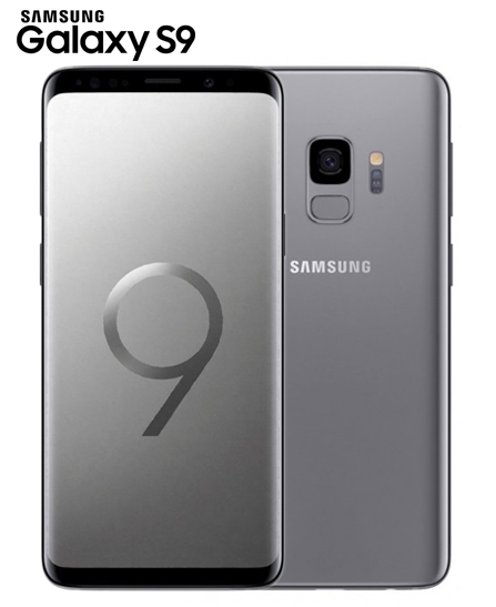 Samsung Galaxy S9 - Dual Sim - 4Go - 5.8 - Android - Gris