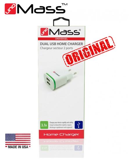 Chargeur Secteur 2 USB - Accessoires UNO MASS