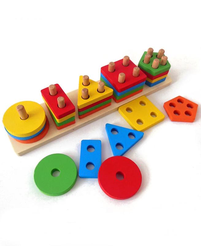 Aménagement éducation Apprentissage en bois - Joute Montessori