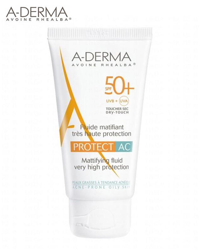 A-Derma Protect AC Fluide Matifiant SPF50+ (40ml)