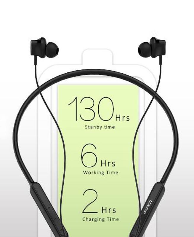 Ecouteurs Firo C1 Bluetooth Pro Sport V4.0 - Noir