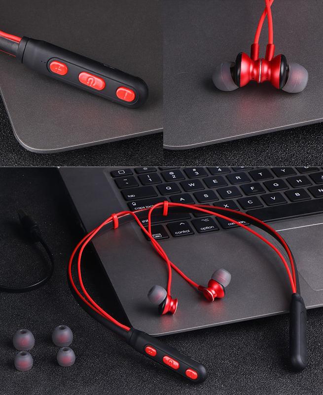 Ecouteurs Magnétique M8 Sport - Casque Sans Fil Bluetooth V4.1