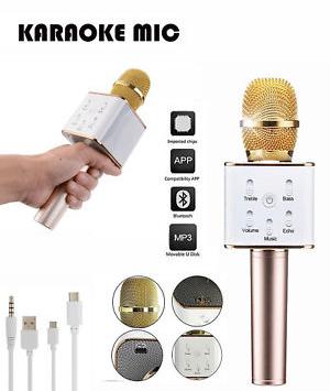 Microphone Bluetooth Sans Fil Haut Parleur à Karaoké