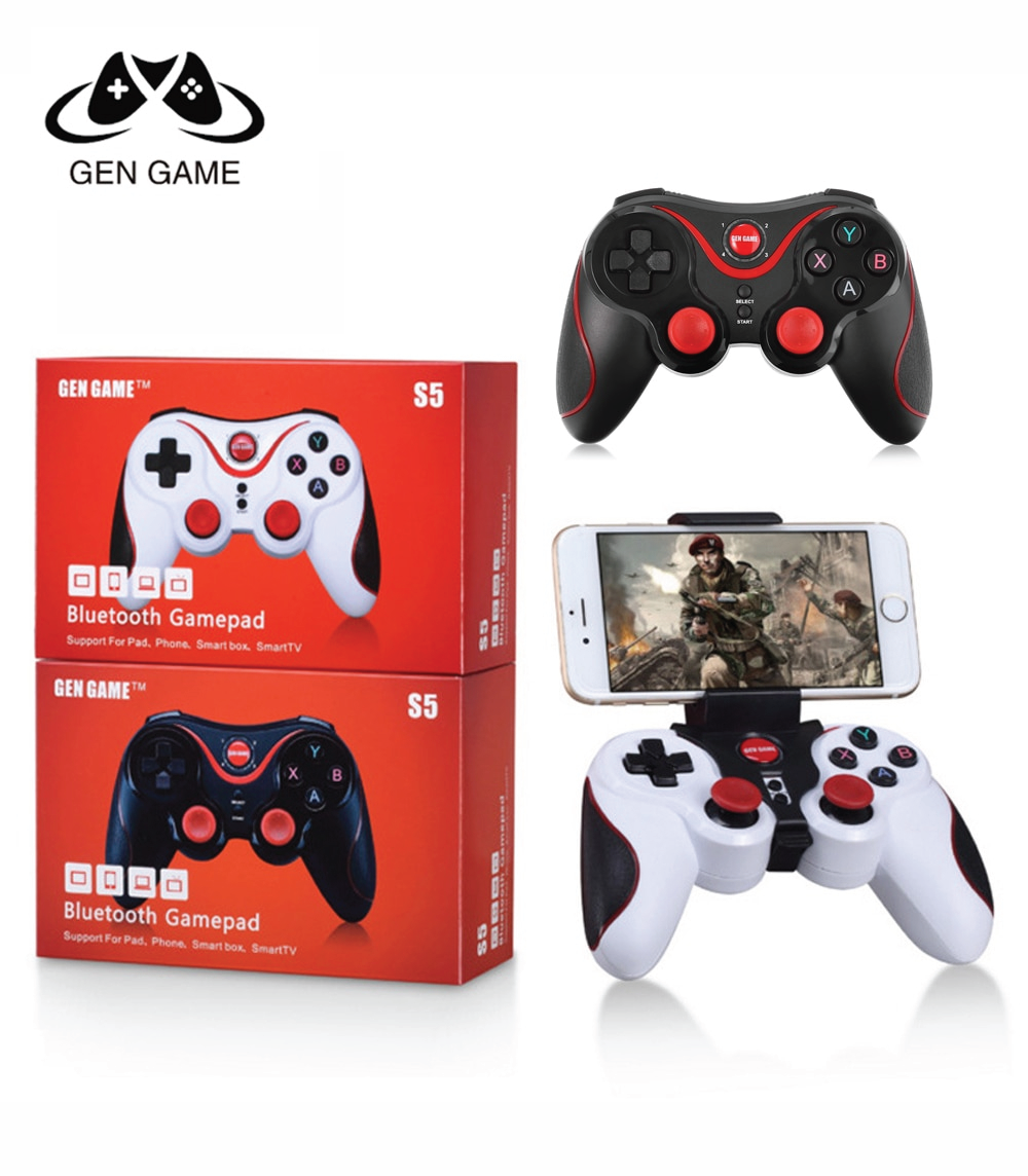 Manette de jeux mobile S5 Bluetooth