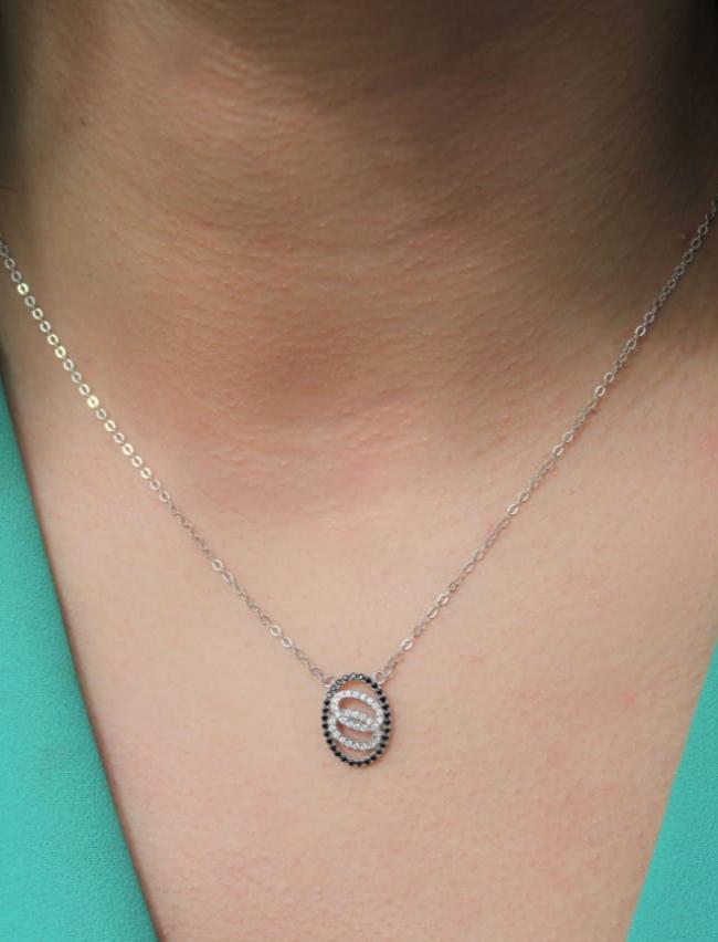 Parures Honora en Argent Certifié 925 Collier Bague Bracelet et Boucles d'Oreilles