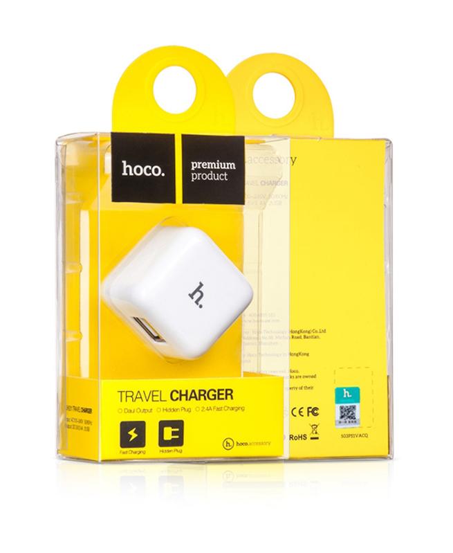 Adaptateur UH204 DOUBLE USB - HOCO