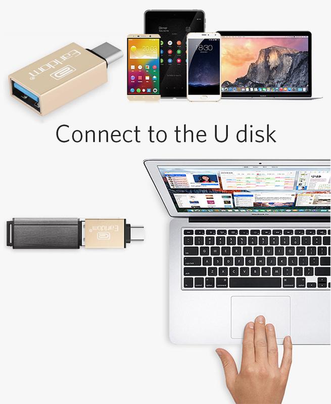 Adaptateur Type-C vers USB3.0 Earldom OT06 USB3.0