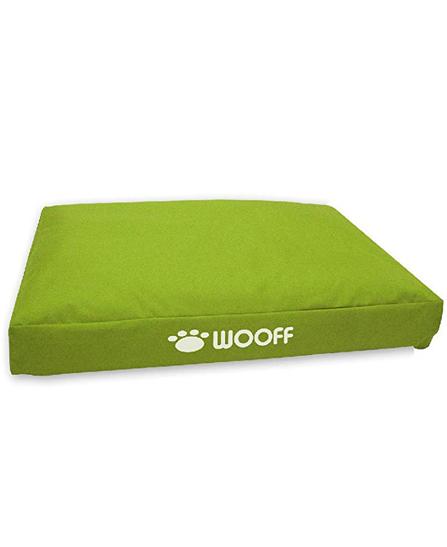 Matelas Wooff Déhoussable Vert pour chien et chat 75x55x15cm