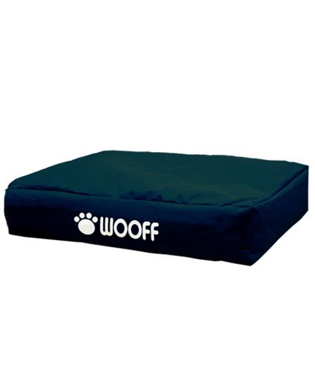 Matelas Wooff Déhoussable Noir pour chien et chat 75x55x15cm