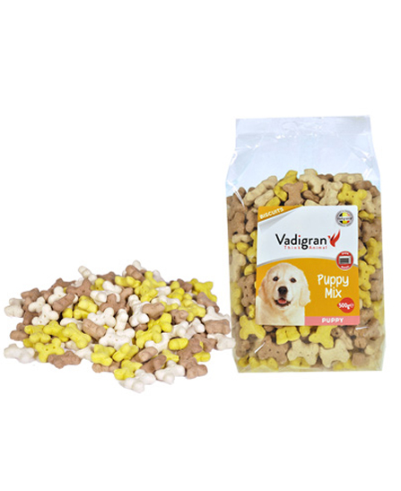 Snack chiot biscuits puppy mix 500g - Vadigran