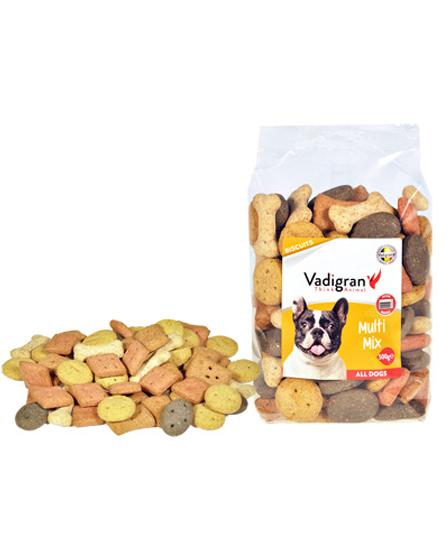 Snack chien biscuits Multi Mix 500g - Vadigran