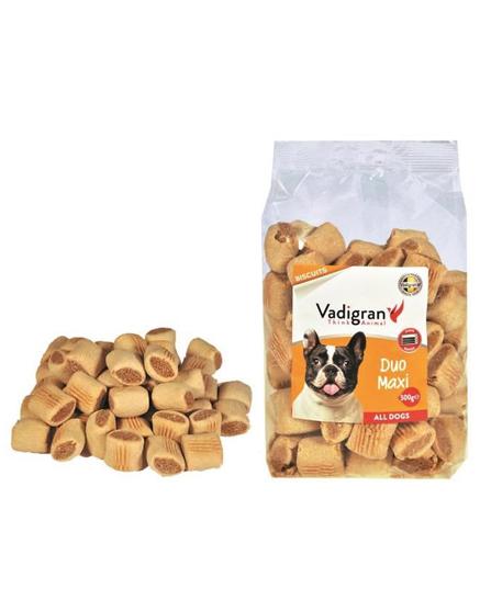 Snack chien biscuits Duo Maxi 500g - Vadigran