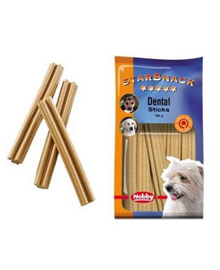 Snack chien biscuits Dental Sticks 180g - Nobby