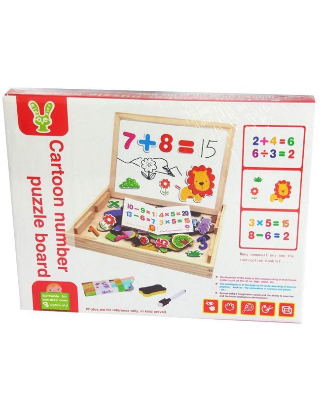 Tableau de chiffres magnétique pour enfants