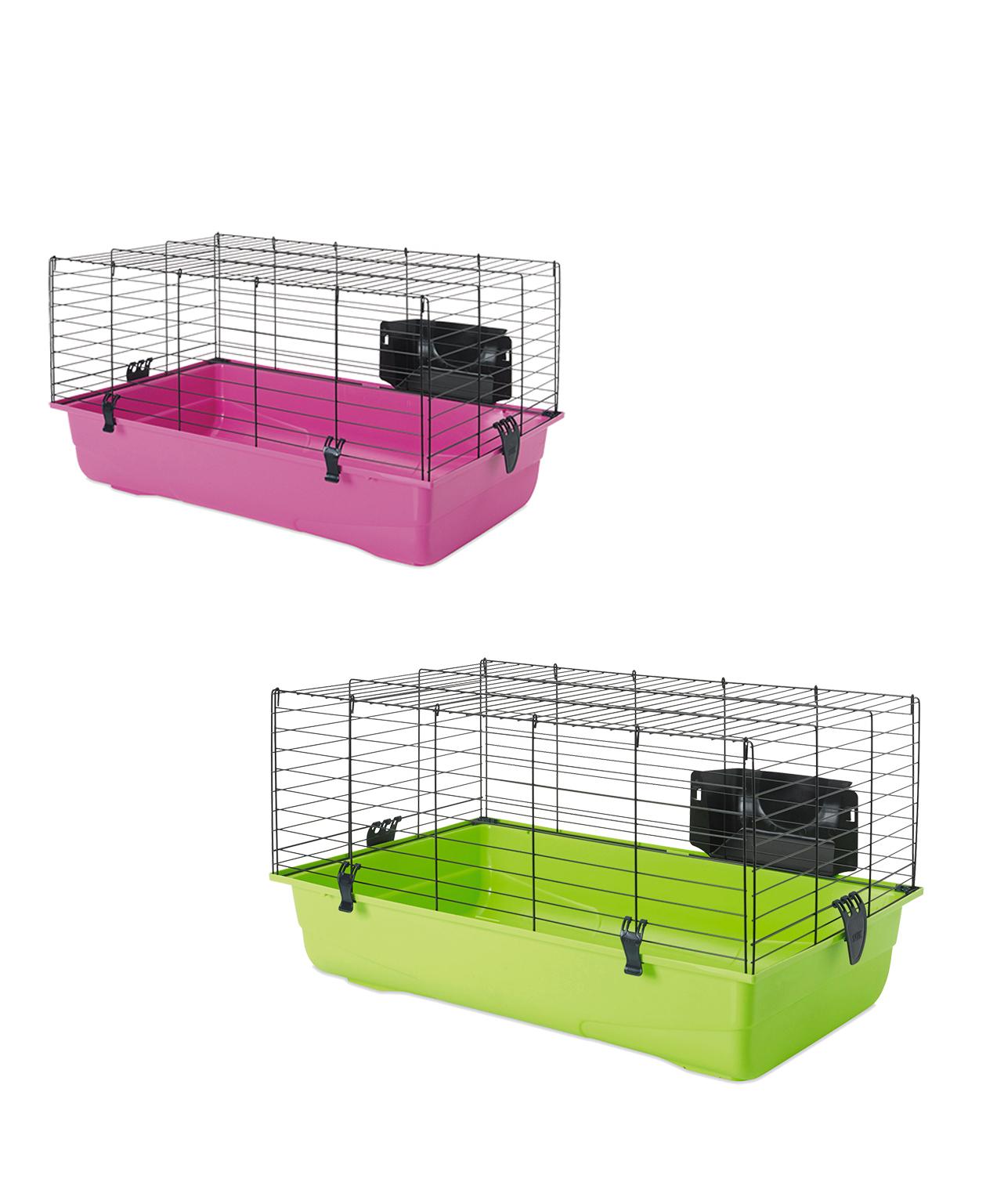 Cage grand rongeur Ambiente 80 noir 80x50x43cm - Savic