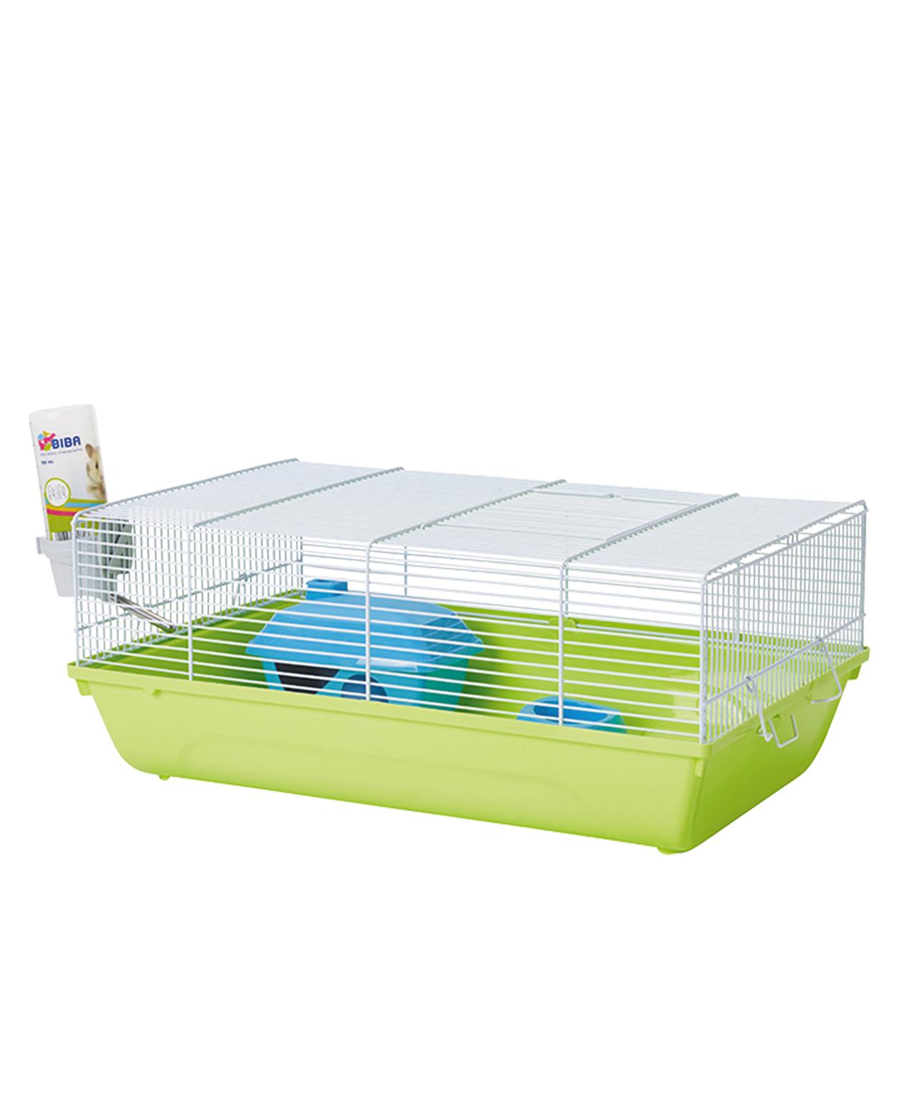 Cage souris budget stuart blanc et vert 46,5x29,5x19cm - Savic