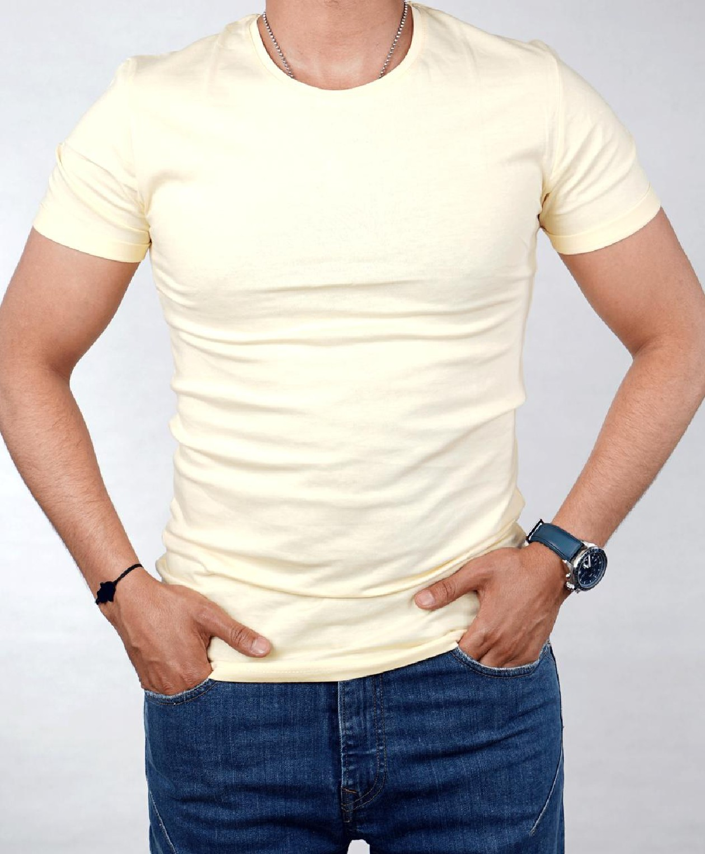 T-shirt TPM Türk pour homme - Jaune
