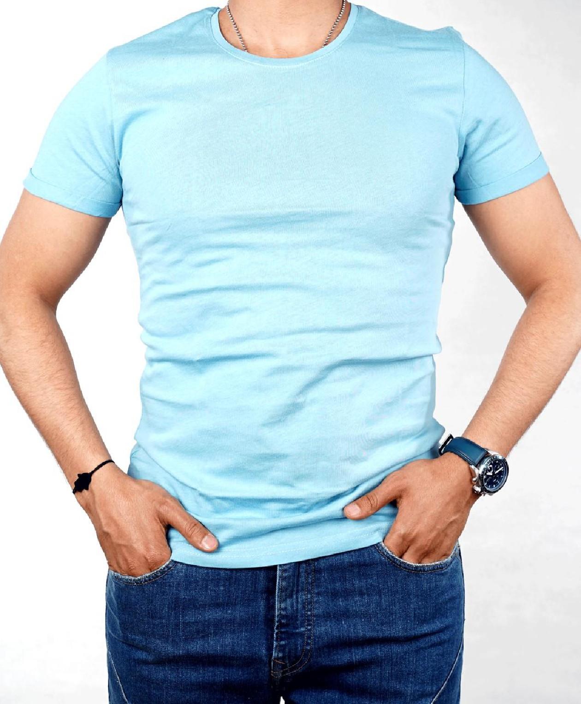 T-shirt TPM Türk pour homme - Bleu Ciel