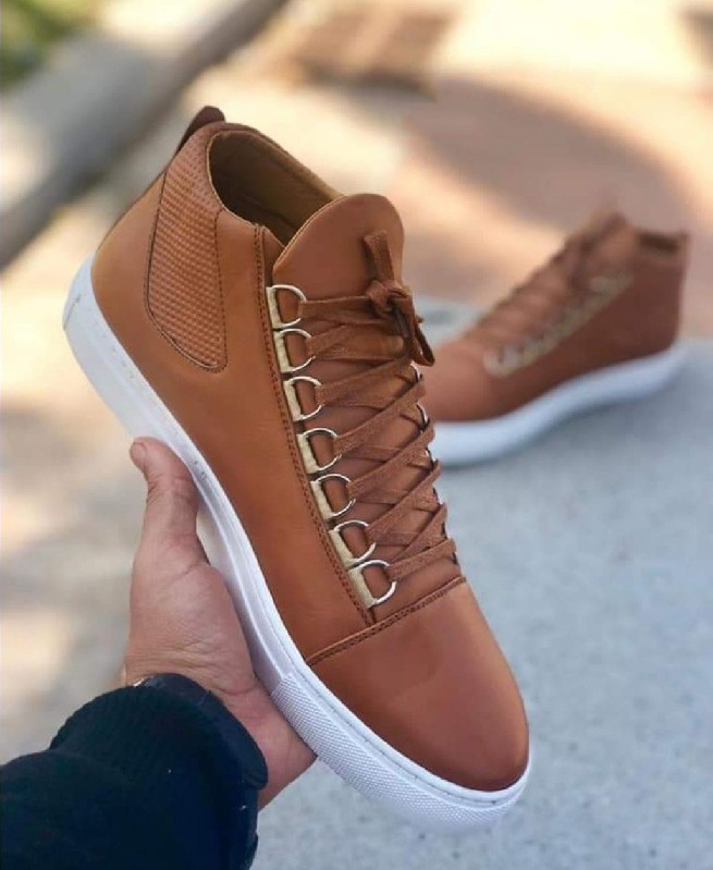 Chaussures Montantes Marron homme - Fashion hiver 2019