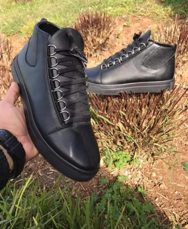 Chaussures Montantes Noir homme - Fashion hiver 2019