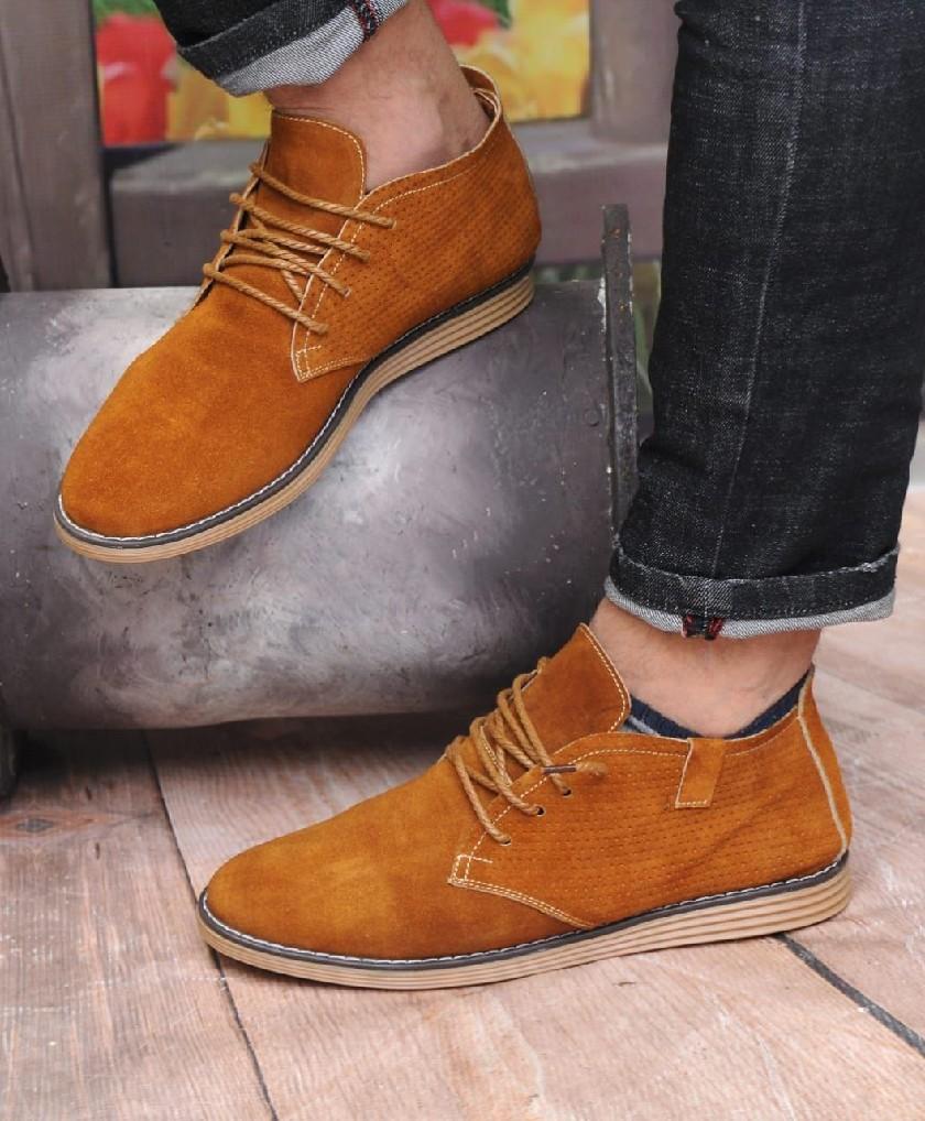 Bottes Désert Marron clair - Chaussures en danne très chique pour homme