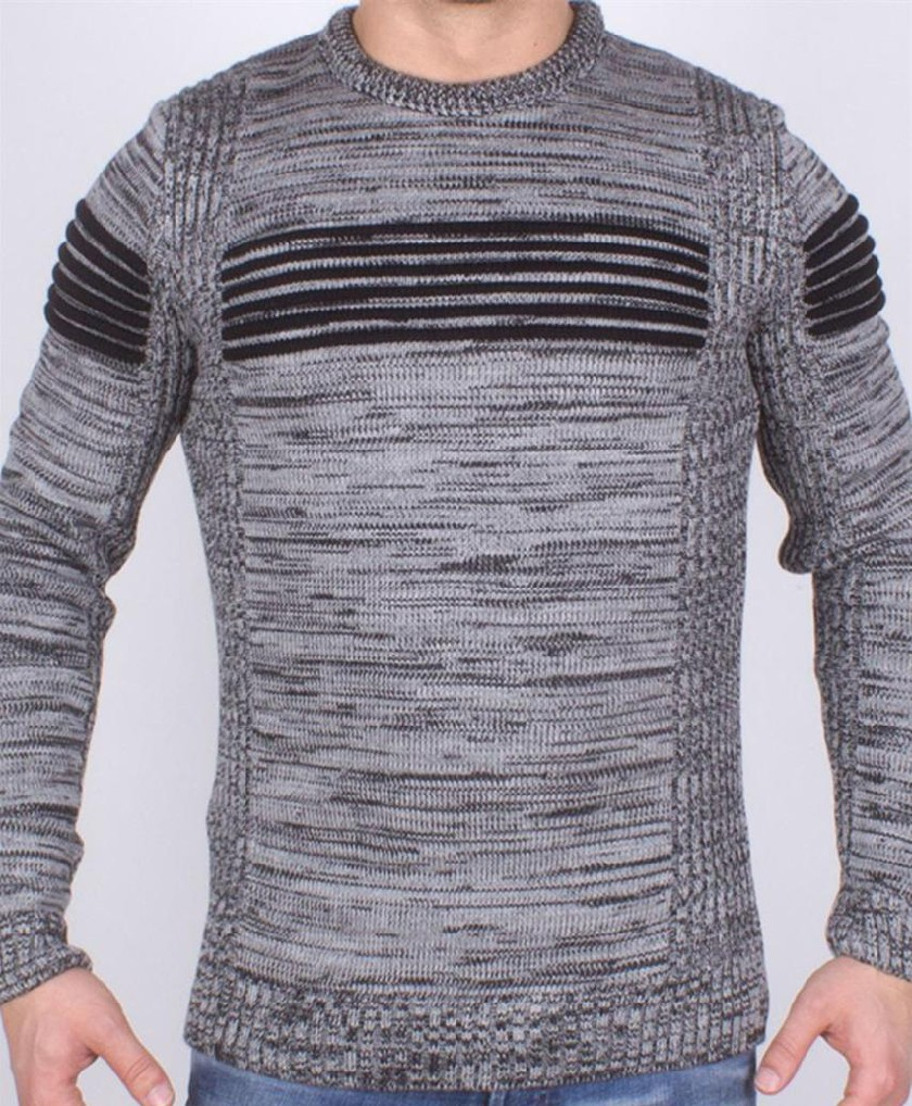 Pull en laine Tricot Fort G.N Turk - Ce & Ce Fashion