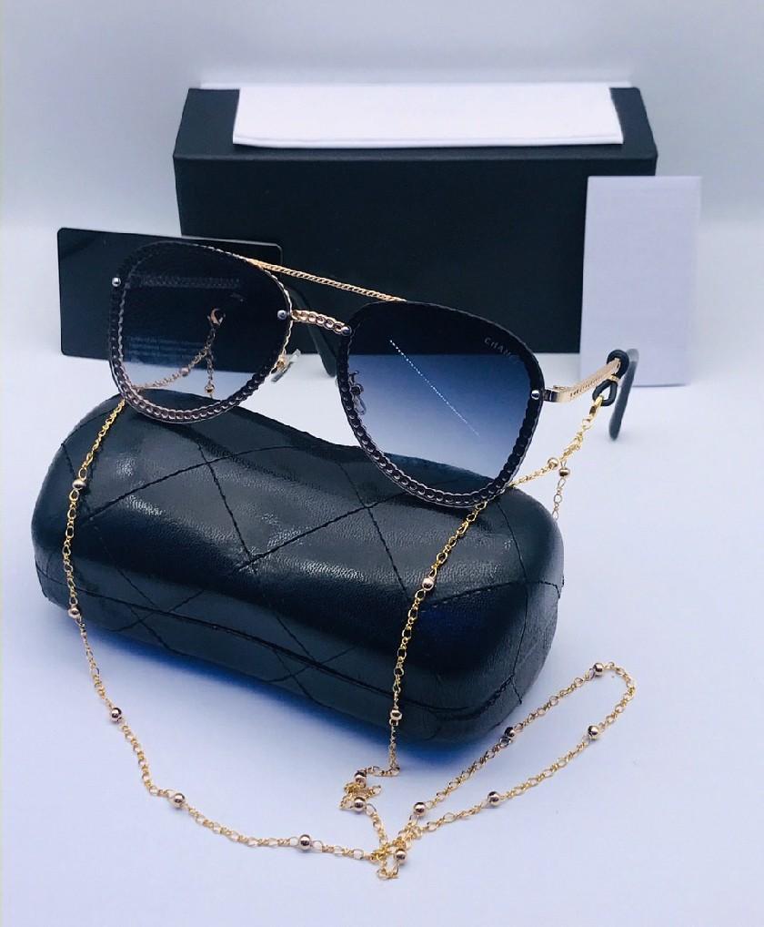 Lunettes Solaires pour femme CL Bleu avec boite