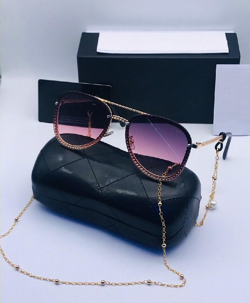 Lunettes Solaires pour femme CL Violet avec boite