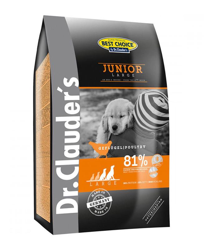 Croquette Chiot Best Choice Large Junior 4kg - Dr Clauder's
