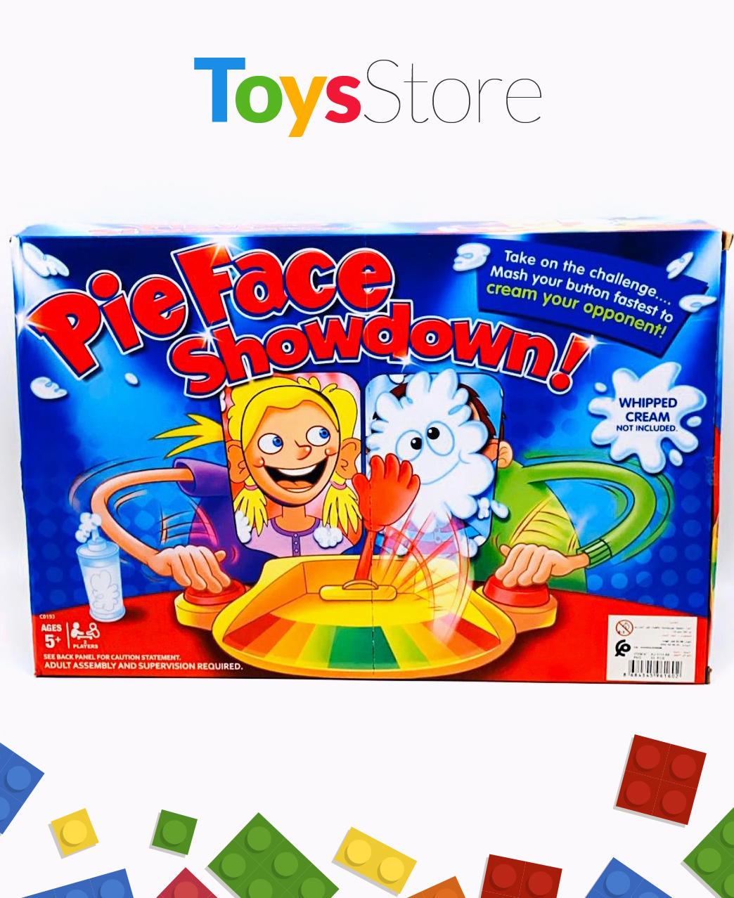 Jeu de famille Pie Face Showdown Jeu Multicolore - pour garçon et filles
