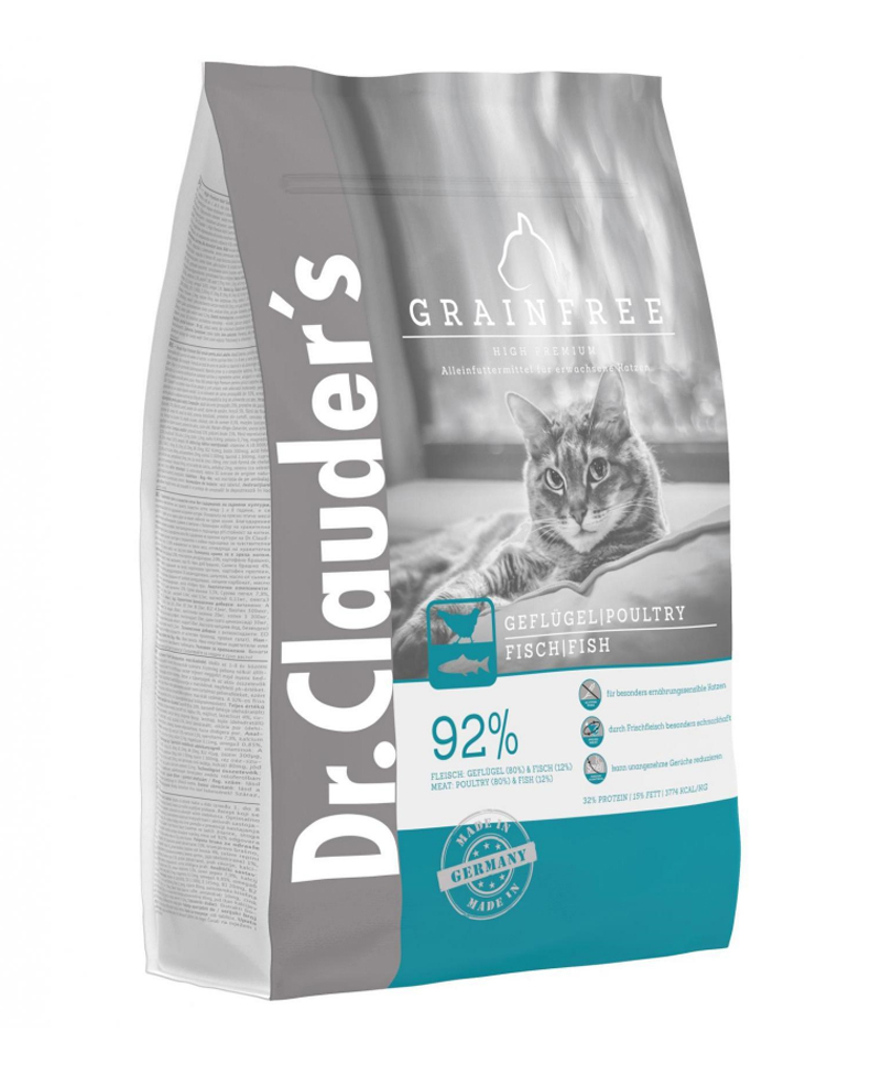 Croquette Chat High Premium Cat Grainfree 1,5kg - Dr Clauder's
