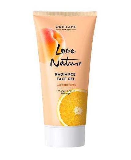 Gel pour le Visage aux Extraits Naturels d'Abricot et d'Orange 50ml - Oriflame