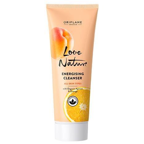 Nettoyant Energisant aux Extraits Naturels d'Abricot et d'Orange 125ml - Oriflame