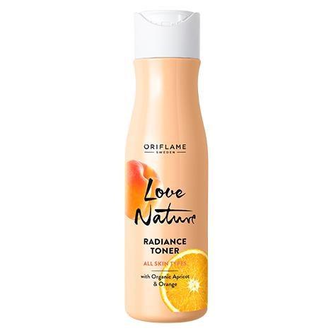 Tonique aux Extraits Naturels d'Abricot et d'Orange Love Nature 150ml - Oriflame