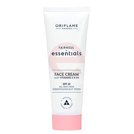 Crème pour le Visage Fairness Essentials à la Vitamine E & B3 - 50 ml - Oriflame