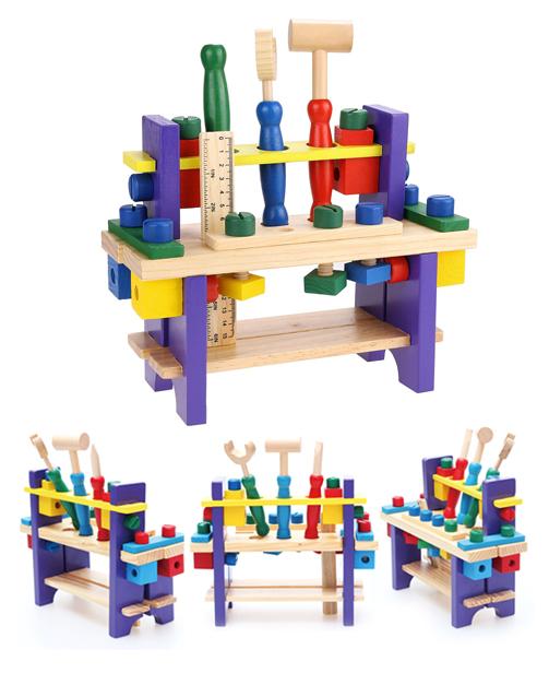 Etabli de bricolage pour enfants en BoisJouet Educatif - Montessori