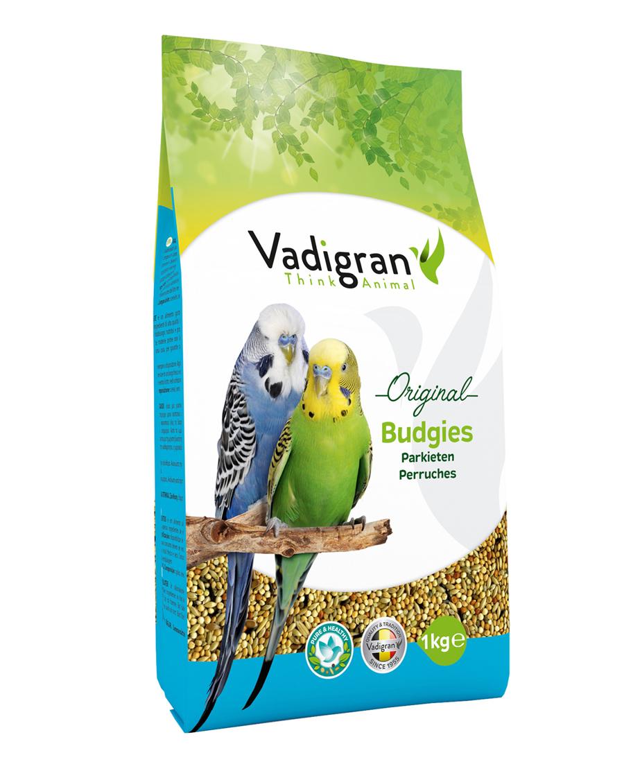 Aliment Oiseaux Perruches Original 1kg - Vadigran