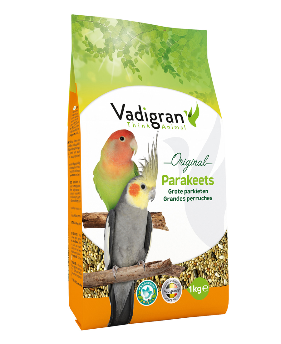 Aliment Oiseaux Grandes Perruches Original 1Kg - Vadigran