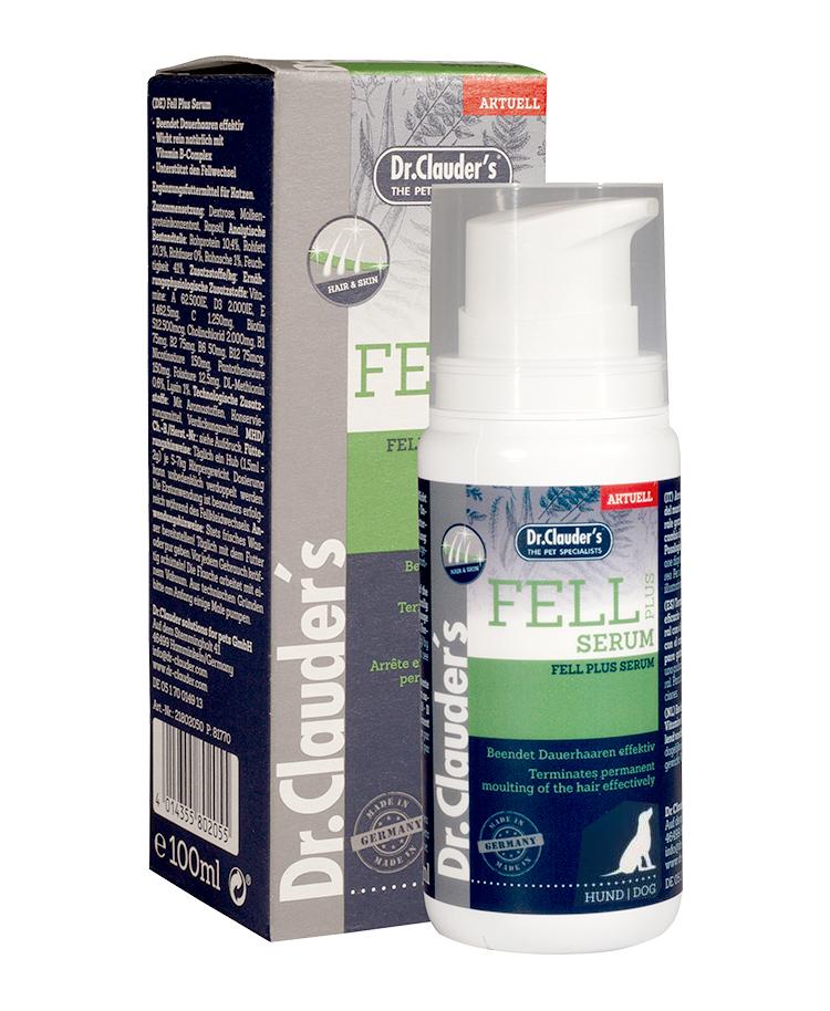 Serum Fell Plus Peau & Poils Chiens 100ml - Dr Clauder's