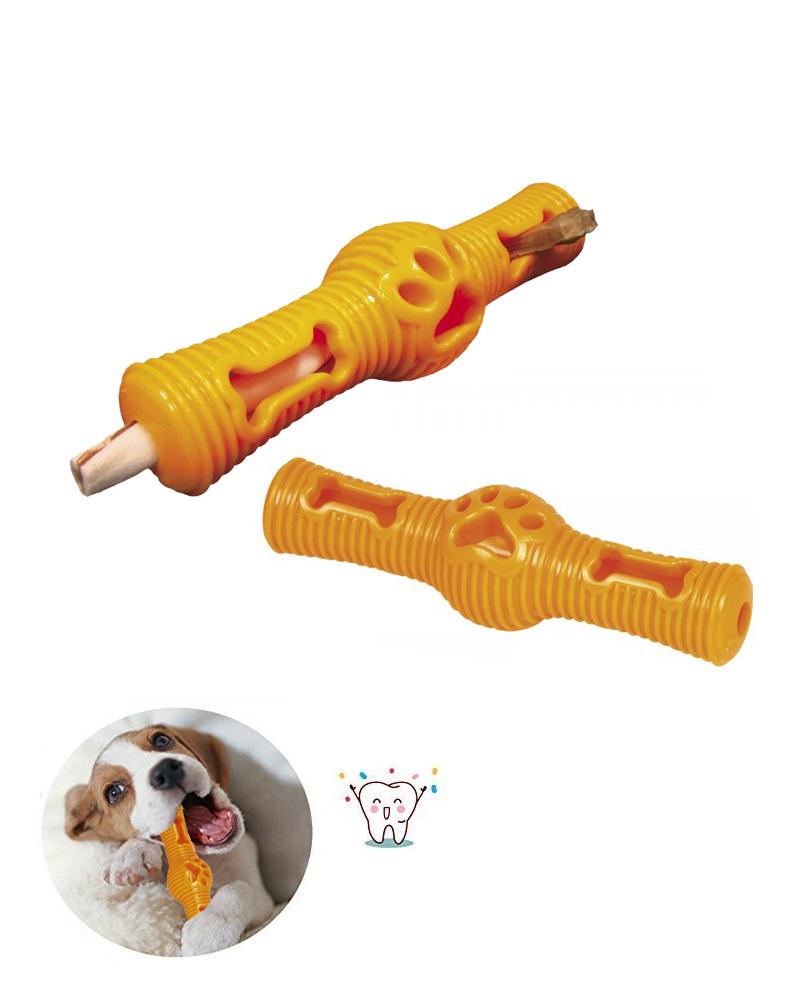 Jouet dentaire chien TPR Stick Orange 24,5 cm - Nobby