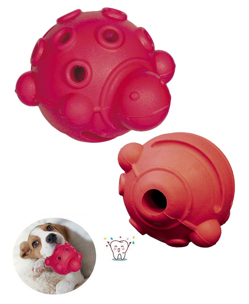 Jouet Chien à Macher Rubber ball (Tortue) 7,5 cm - Nobby